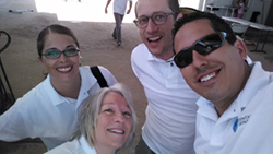 Medical Departures Team in Casa Betesda selfie