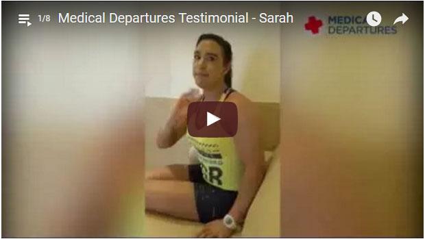 Medical Departures - testimonial videos