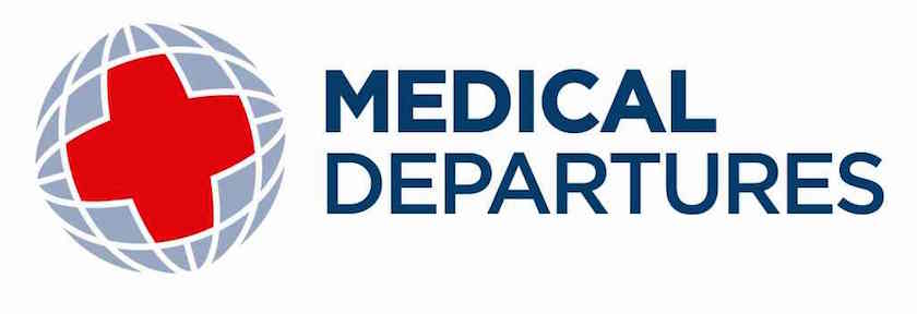 Medical Departures Logo - Small size