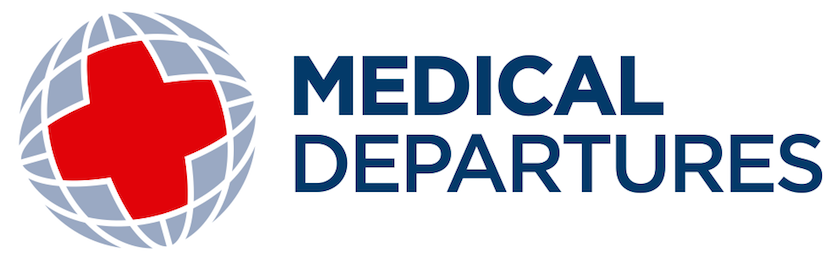 Medical Departures Logo Wordmark Color